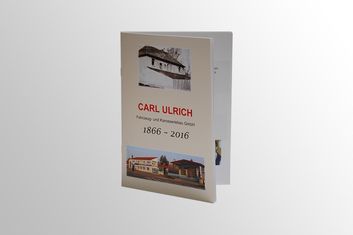 Broschüre Jubiläum Fahrzeug/ Karosseriebau